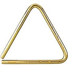 Bronze Hammered Lite Symphonic Triangle 9 in.