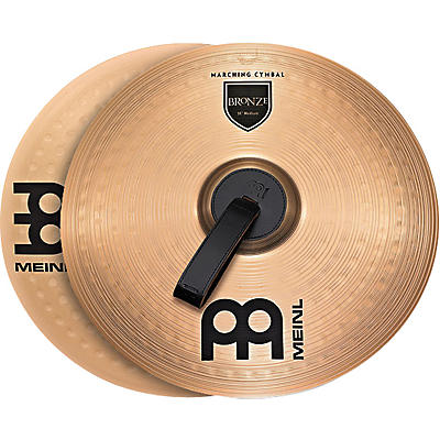 Meinl Bronze Marching Medium Cymbal Pair