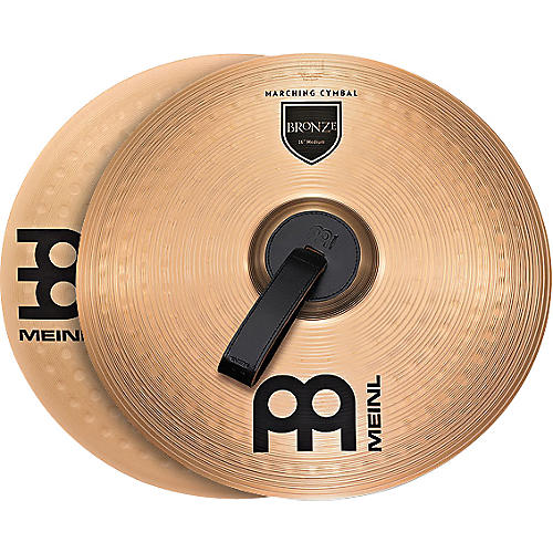 Meinl Bronze Marching Medium Cymbal Pair 14 in.