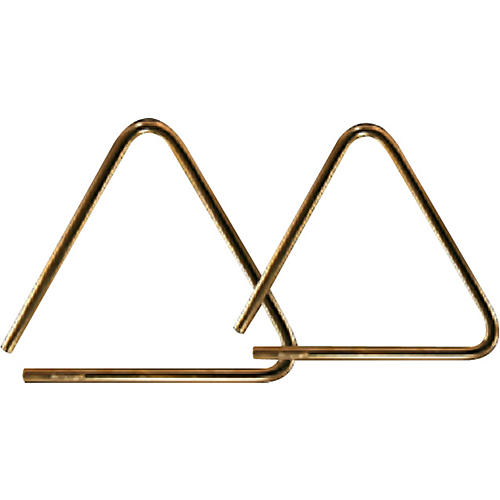 Grover Pro Bronze Pro-Hammered Triangle 7 in.