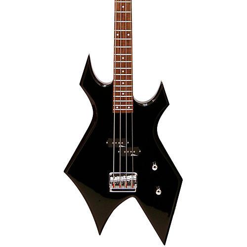 B.C. Rich Bronze Warlock Electric Bass Guitar