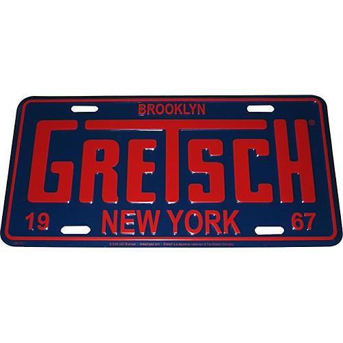 Gretsch Brooklyn NY License Plate
