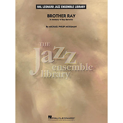 Hal Leonard Brother Ray Jazz Band Level 4 Composed by Michael Philip Mossman