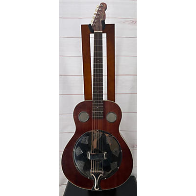Fender Brown Derby Resonator Guitar