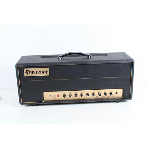 Friedman Brown Eye 100W 2-Channel Tube Guitar Head Condition 3 - Scratch and Dent Black 194744340864