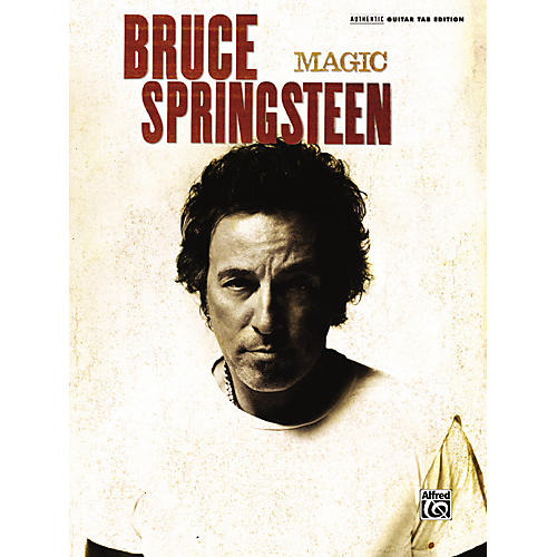 Alfred Bruce Springsteen - Magic Guitar Tab