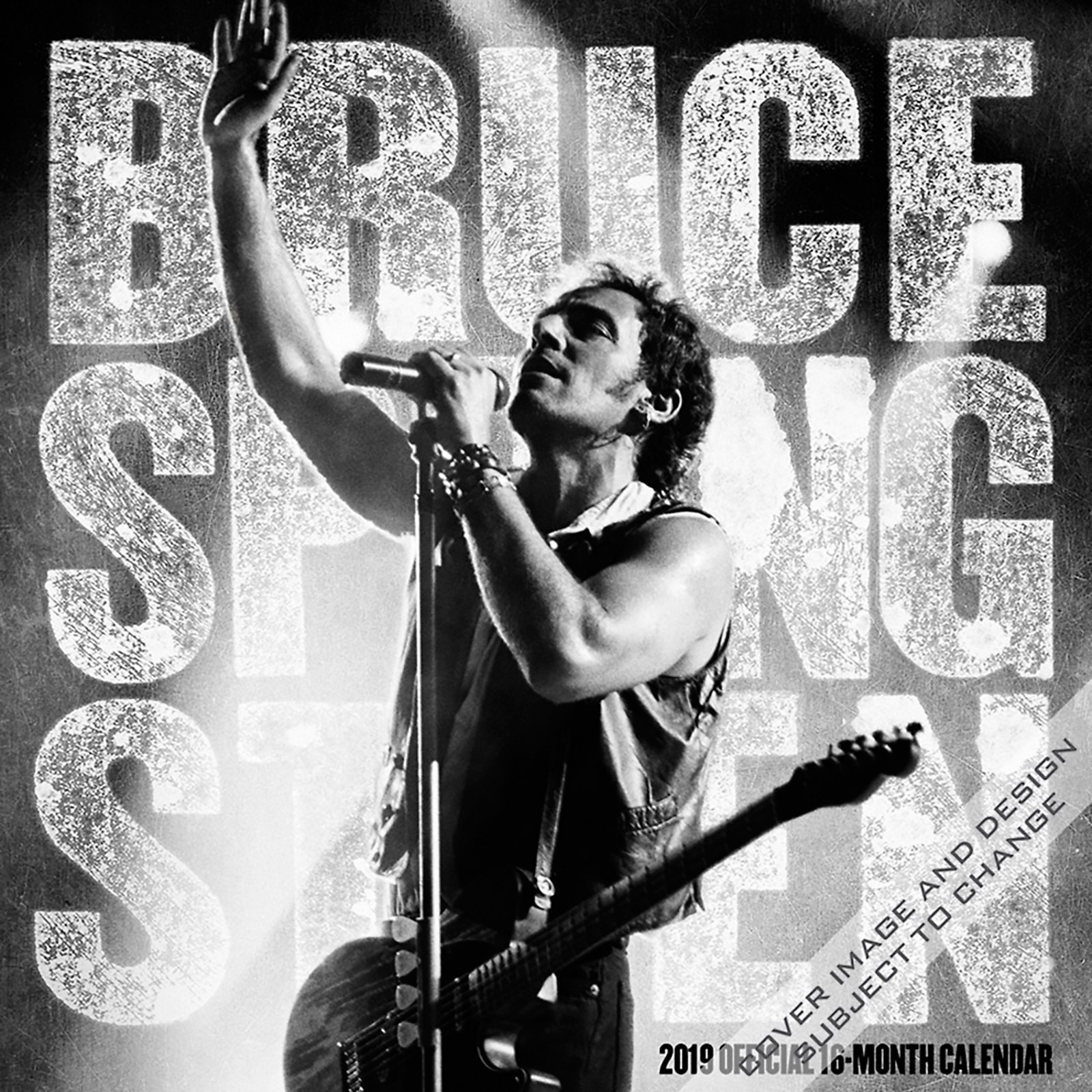 Browntrout Publishing Bruce Springsteen 2019 Calendar