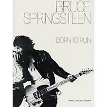 Alfred Bruce Springsteen Born to Run Piano/Vocal/Chords Book