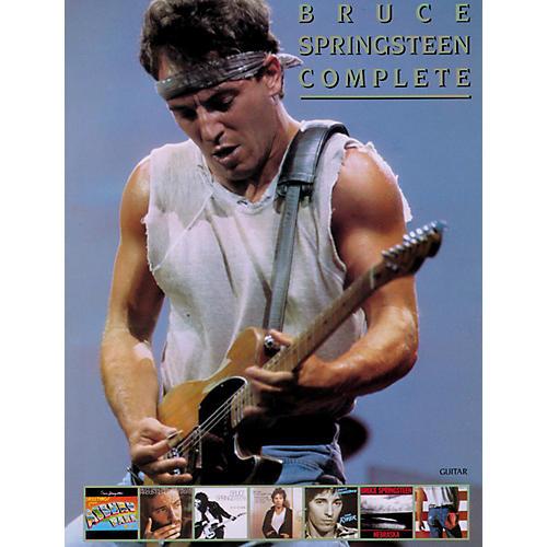 Alfred Bruce Springsteen Complete Guitar/Vocal/ Chords