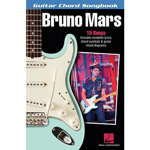 Hal Leonard Bruno Mars - Guitar Chord Songbook