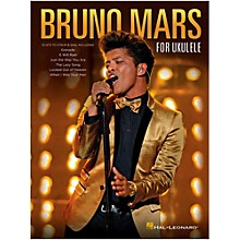 Hal Leonard Bruno Mars For Ukulele
