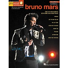 Hal Leonard Bruno Mars (Pro Vocal Men's Edition Volume 58) Pro Vocal Series Softcover Audio Online