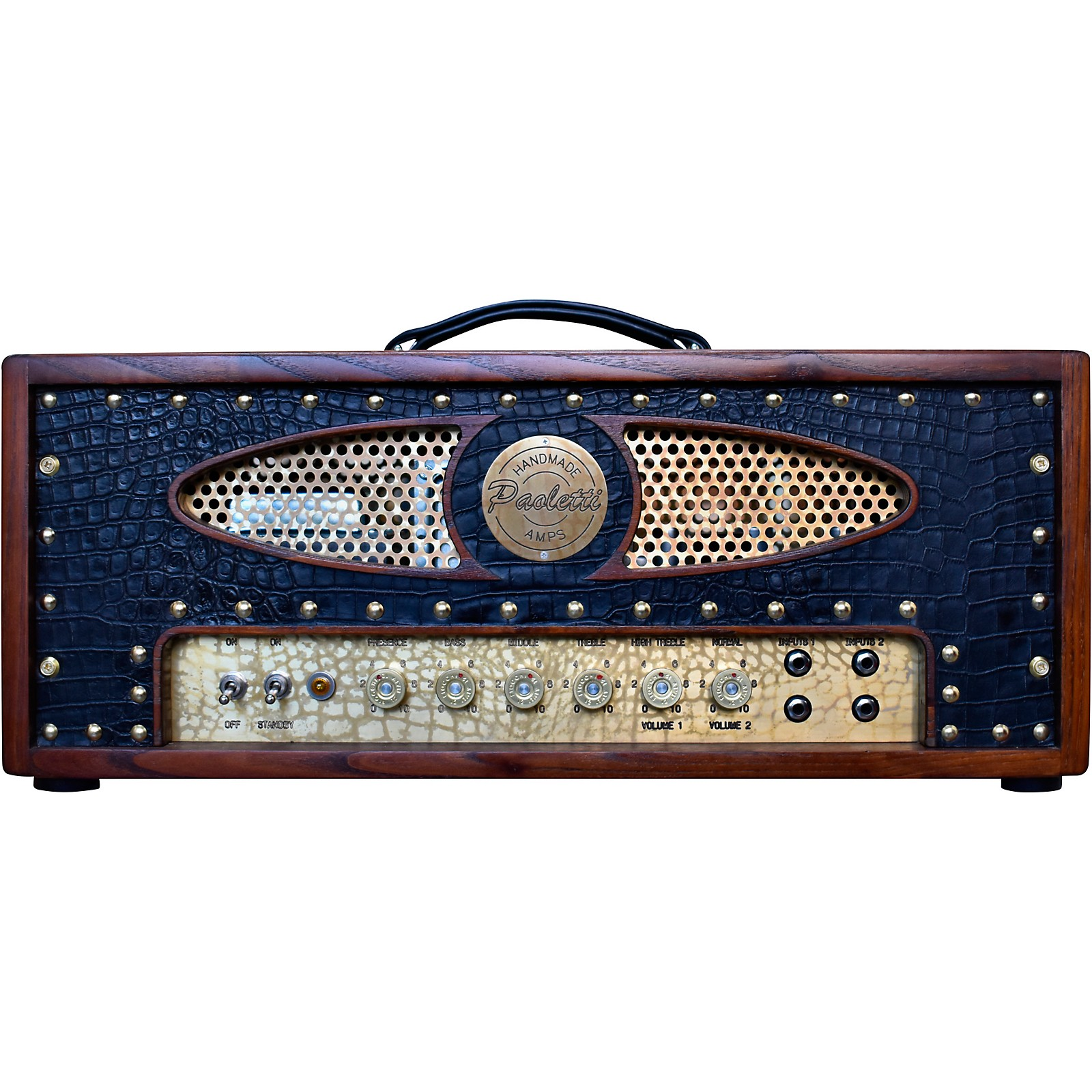 Paoletti Guitars Brutale 45W Tube Guitar Amp Head