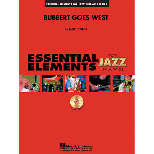 Hal Leonard Bubbert Goes West Jazz Band Level 1-2 Composed by Mike Steinel