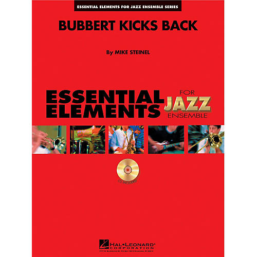 Hal Leonard Bubbert Kicks Back Jazz Band Level 1-2 Composed by Mike Steinel