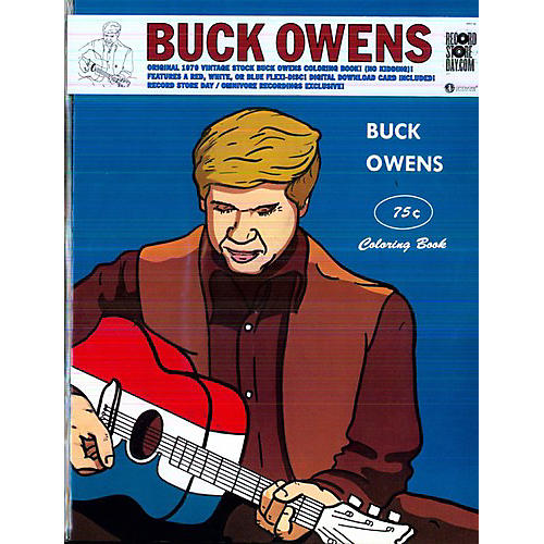 Alliance Buck Owens - Coloring Book