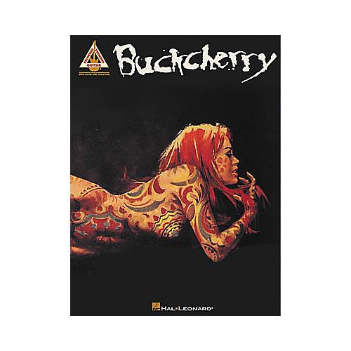 Hal Leonard Buckcherry Guitar Tab Book