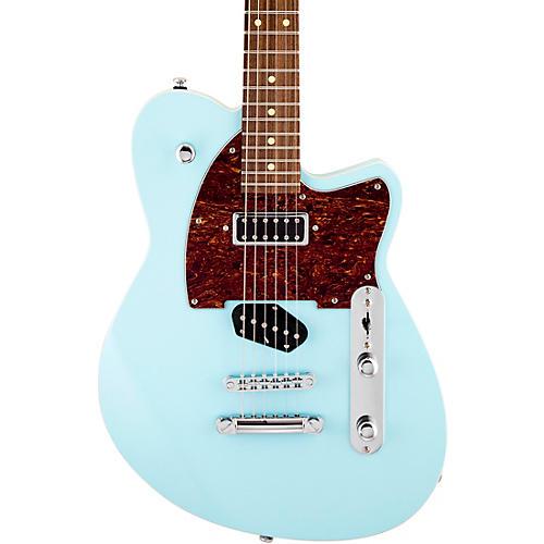 Reverend Buckshot Roasted Pau Ferro Fingerboard Electric Guitar Chronic Blue