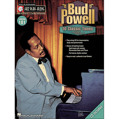 Hal Leonard Bud Powell - Jazz Play-Along Volume 101 (CD/Pkg)