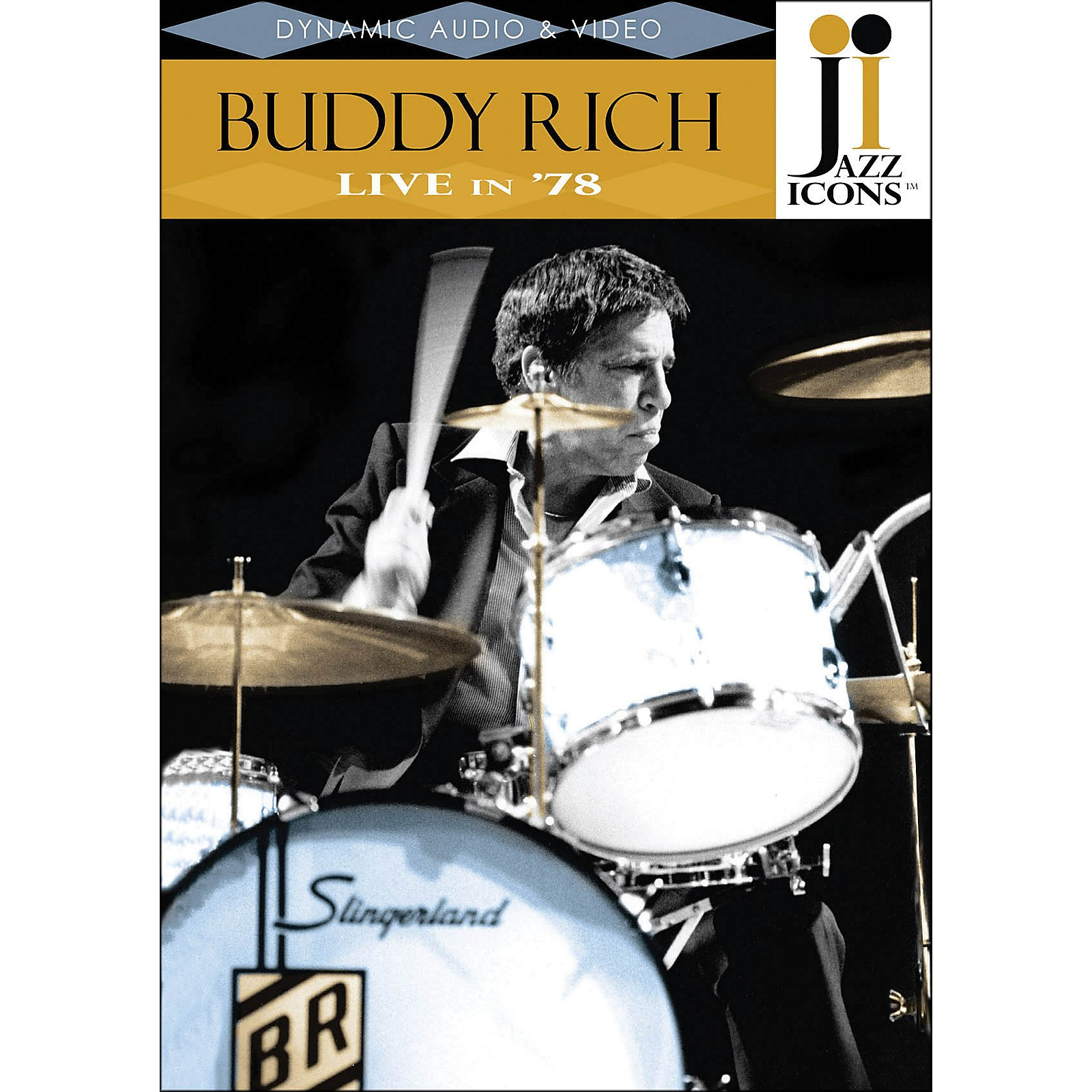 Hal Leonard Buddy Rich Live In '78 DVD Jazz Icons