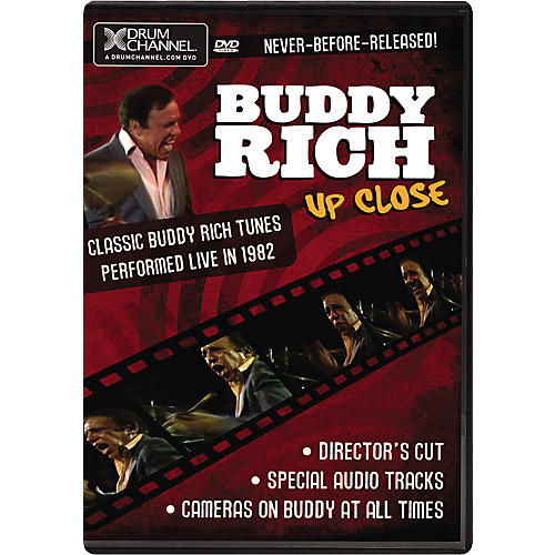 The Drum Channel Buddy Rich: Up Close (DVD)