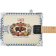 Lace Buffalo Bull Acoutic-Electric Cigar Box Guitar