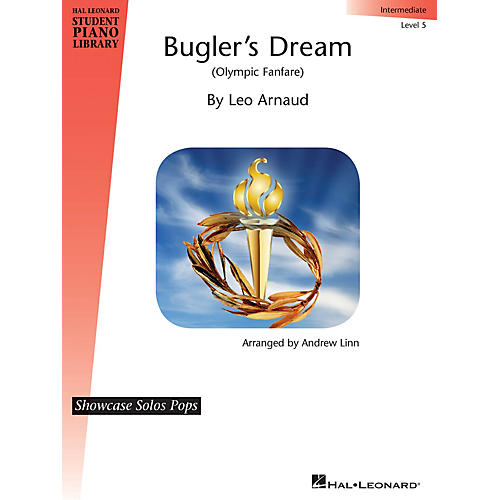 Hal Leonard Bugler's Dream (Olympic Fanfare) Piano Library Series Book by Leo Arnaud (Level Inter)