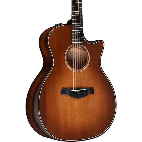 Taylor Builder's Edition 614ce V-Class Grand Auditorium Acoustic-Electric Guitar Wild Honey Burst