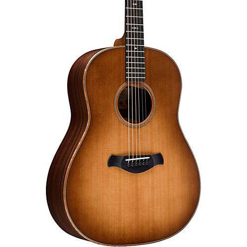 Taylor Builder's Edition 717 Grand Pacific Dreadnought Acoustic Guitar Wild Honey Burst