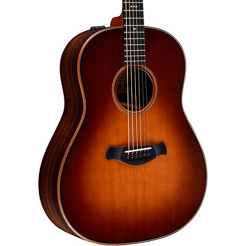 Taylor Builder's Edition 717e Grand Pacific Dreadnought Acoustic-Electric Guitar Wild Honey Burst