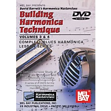 Mel Bay Building Harmonica Technique Volumes 3 & 4 DVD