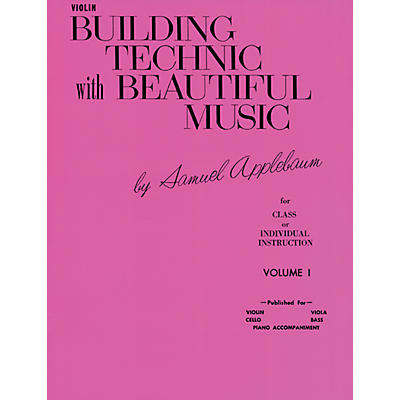 Alfred Building Technic with Beautiful Music Book I Violin