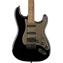 Bullet Stratocaster HSS Hardtail Limited Edition Electric Guitar with Black Hardware Black Metallic