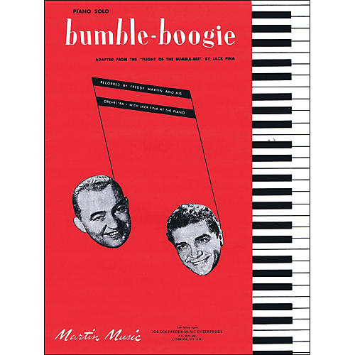 Hal Leonard Bumble Boogie Adapted From The