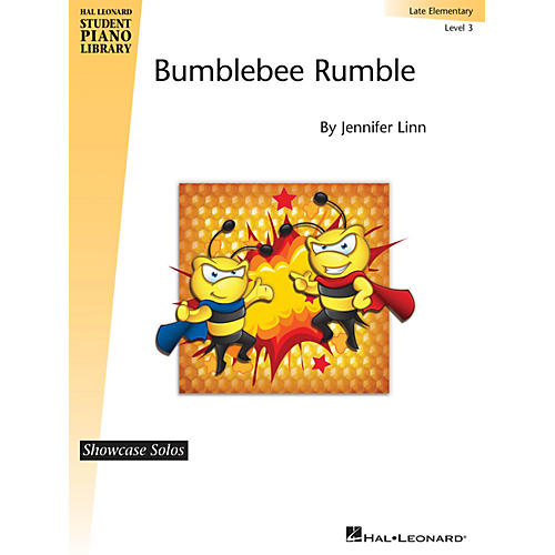 Hal Leonard Bumblebee Rumble Piano Library Series by Jennifer Linn (Level Late Elem)