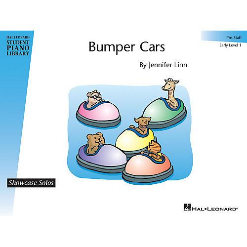 Hal Leonard Bumper Cars Piano Library Series by Jennifer Linn (Level Early Elem (Pre-Staff))
