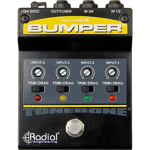 Radial Engineering Bumper Instrument Selector Pedal