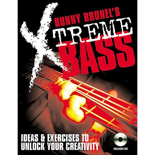 Backbeat Books Bunny Brunell's Xtreme Bass (Book/CD)