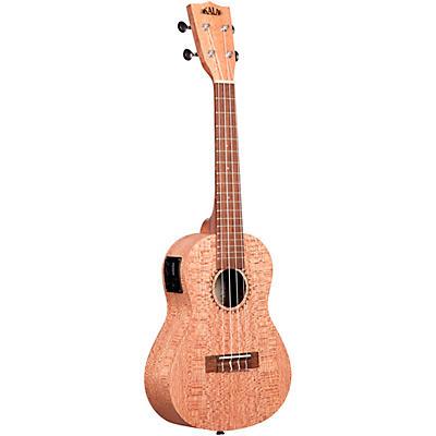 Kala Burled Meranti Concert Acoustic Electric Ukulele