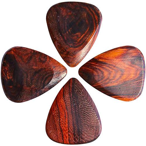 Timber Tones Burma Padauk Guitar Picks, 4-Pack