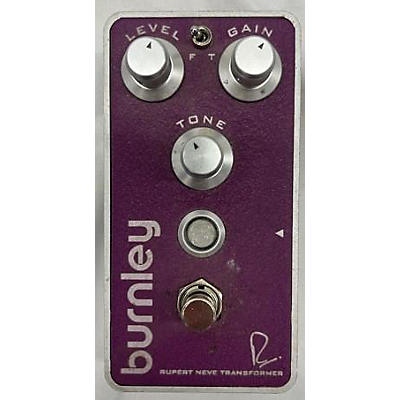Bogner Burnley V2 Classic Distortion With Transformer Effect Pedal