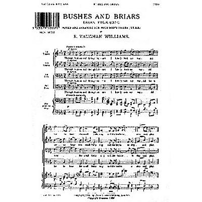 Novello Bushes and Briars TTBB A Cappella Composed by Ralph Vaughan Williams