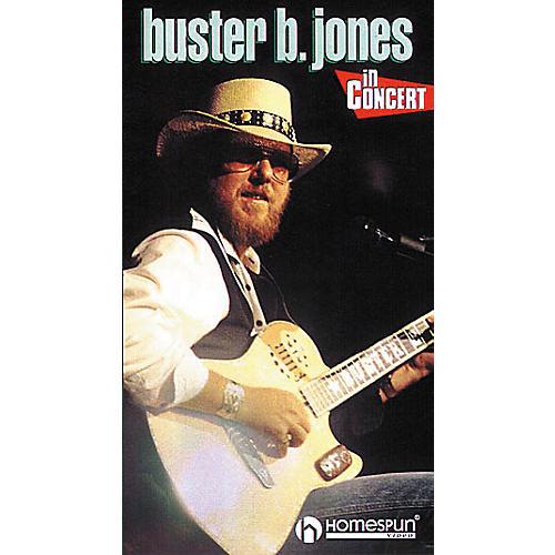 Homespun Buster B. Jones in Concert (VHS)