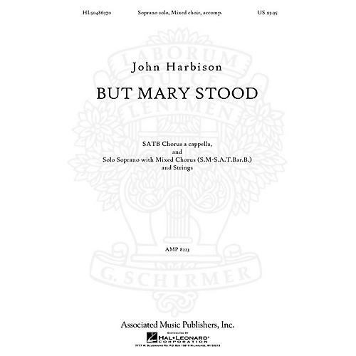 Associated But Mary Stood SATB composed by John Harbison