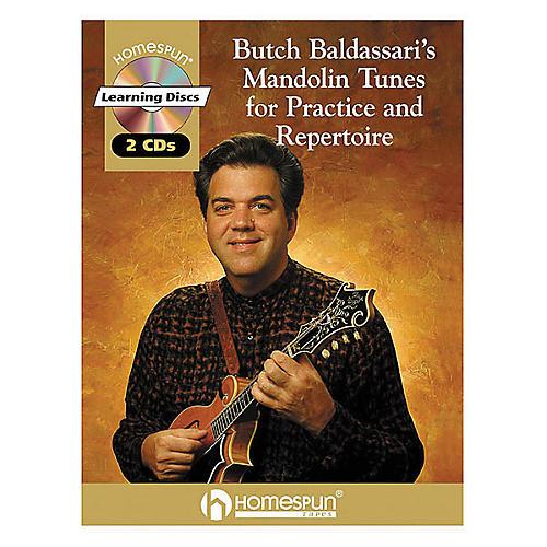 Homespun Butch Baldassari's Mandolin Tunes for Practice & Repertoire Book with CD