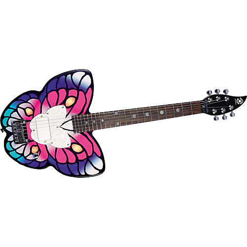 Daisy Rock Butterfly Short Scale Electric Guitar