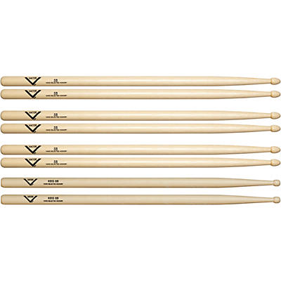 Vater Buy 3 5B Wood Drumsticks, Get 1 Free KEG 5B