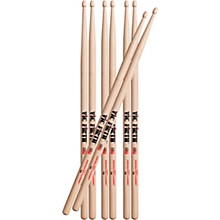 Vic Firth Buy 3 Pair 5A Drum Sticks, Get 1 Pair Free