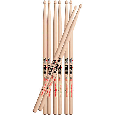 Vic Firth Buy 3 Pair of 5B Drum Sticks, Get 1 Pair Free