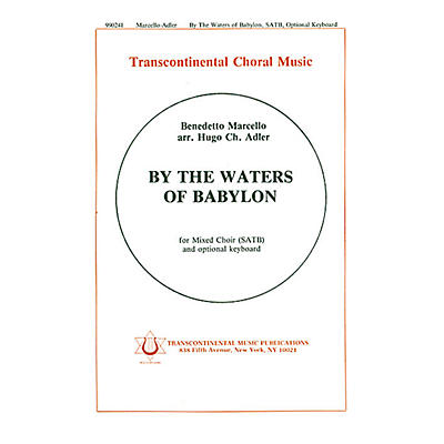 Transcontinental Music By The Waters Of Babylon SATB arranged by Hugo Adler